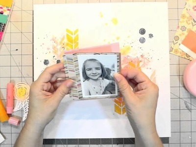 Scrapbook Process Video: Zoned Out Series Video #2 - Mix It Up with Mixed Media