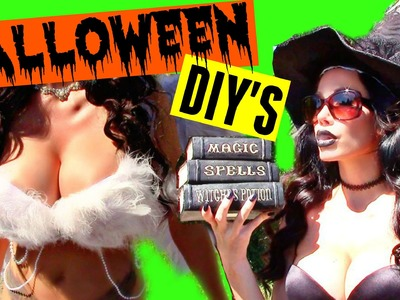 SEXY HALLOWEEN COSTUME IDEAS + DIY (UPBRA)