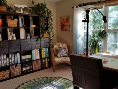 Spotlight Sunday: Scrapbook Room Tour (Nurse Lisa)