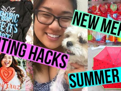 SUMMER DIY, EDITING HACKS + NEW MERCH!!