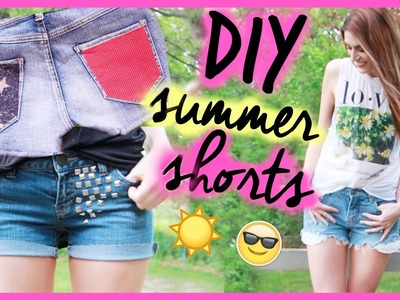SUPER SIMPLE DIY SHORTS  》3 different ways