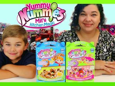 YUMMY NUMMIES | DIY Mini Kitchen Magic | CHEESY PRETZEL FAIL & DONUTS