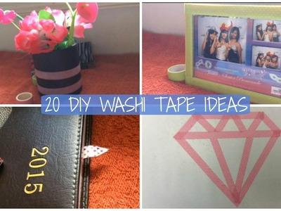 20 DIY Washi Tape Ideas! | Collaboration