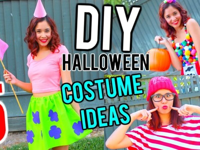 5 DIY HALLOWEEN COSTUME IDEAS FOR TEENS!!