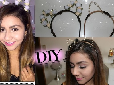 ARIANA GRANDE INSPIRED CAT EARS DIY