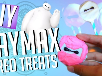 DIY Baymax Oreo Treats