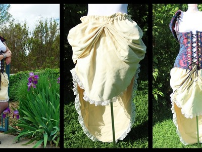 DIY Bustle Skirt for Steampunk Snow White Cosplay - Whitney Sews
