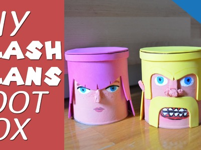 DIY Clash of Clans Loot Box (Money Bank)
