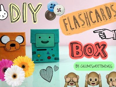 DIY Flashcards Box