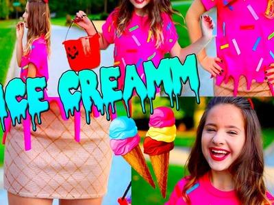 DIY Halloween Costume: Ice Cream Cone