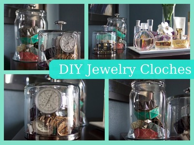 DIY Jewelry Cloches!