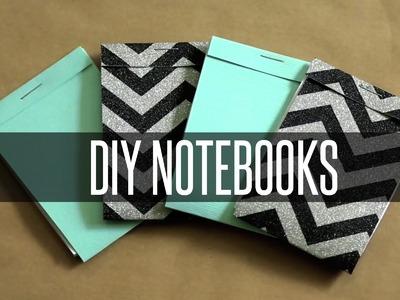 DIY NOTEBOOKS | MATCHBOOK INSPIRED