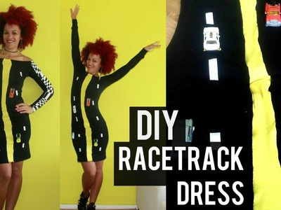DIY Racetrack Dress | DIY Halloween Costume