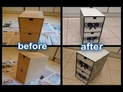 DIY- redecorate your cupboard