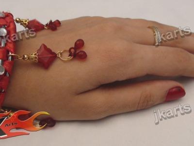DIY Ribbon Wrapped Bangles - JK Arts  074