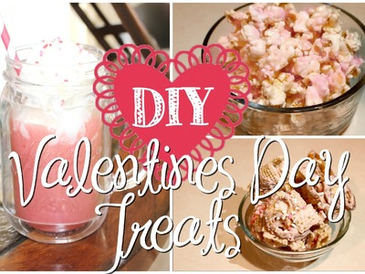 DIY Valentines Day Treats! Super yummy and easy!
