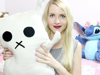Easter.Spring DIY: Bunny Rabbit Pillow (No Sew) | Rebecca Coco