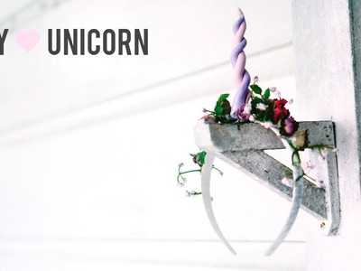 Halloween Unicorn DIY Floral Headband Costume