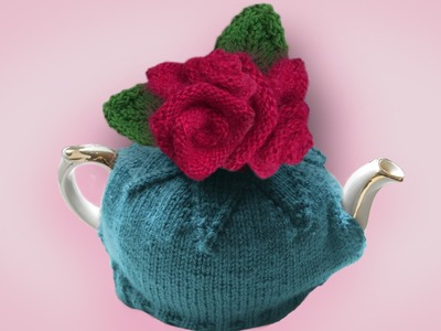 HOW TO KNIT ROSES - As featured in my knitting pattern: GREAT BRITISH TEA COSIES