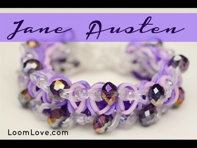 How to Make a Jane Austen Rainbow Loom Bracelet