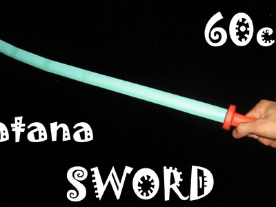 How to make a Samurai Sword Katana using Paper | Creative toy