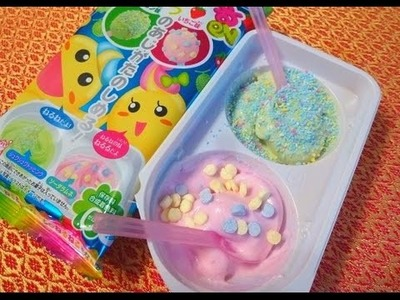 KRACIE Nakayoshi Neruneru DIY Candy Kit - Melon & Strawberry