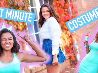 Last Minute DIY Halloween Costumes! Creative & Quick!
