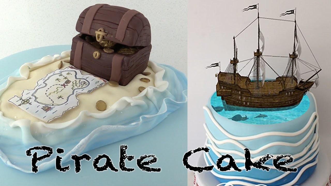 MAGIC PIRATE SHIP CAKE Ann Reardon How To Cook That