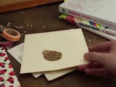Make DIY wax seals with Sugru