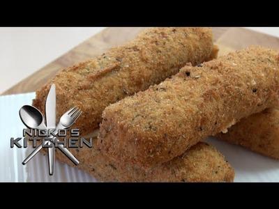 MOZZARELLA STICKS - Nicko's Kitchen