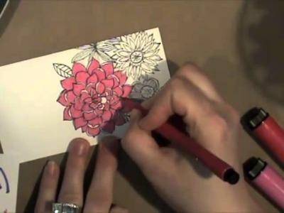 One Stamp Three Ways with Nichol Magouirk at Two Peas