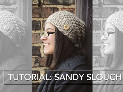 Sandy Slouch Tutorial: Crocheting the Button Flap (Rounds 21-end)