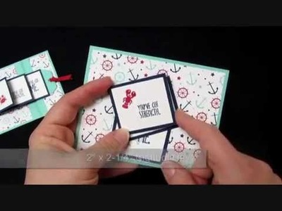 Sea Street Waterfall Card Tutorial