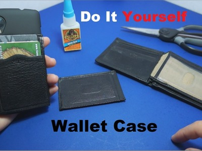 #1 DIY - Do it Yourself Phone Wallet Case - Howto Loser Style =]