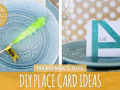 5 DIY Place Card Ideas - HGTV Handmade