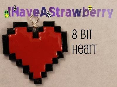 8 Bit Heart Charm