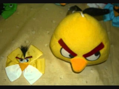 Angry birds cutomize hair bow