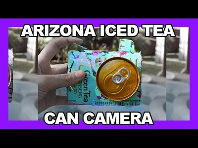 Arizona Iced Tea Can Camera - Inspired by MacBarbie07
