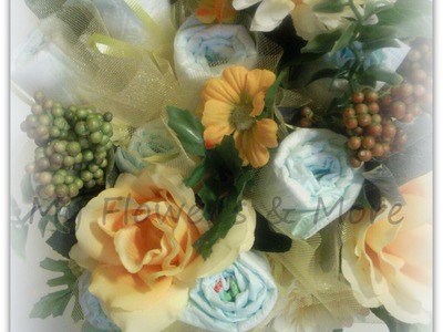 BABY DIAPER BOUQUET 'HOW TO' BY MFM`GIFTZ911