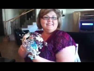 Brooch bouquet with Renae