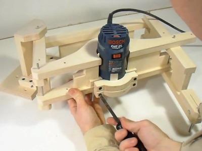 Building the 3-D pantograph