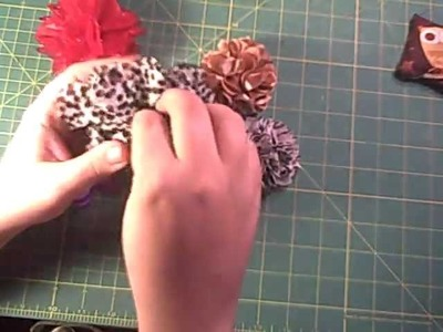 Clover Flower Frill Tutorial, with Heat Sealed Edges