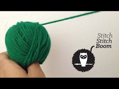 Crochet Quick Vid #1: Creating Center-pull Skeins