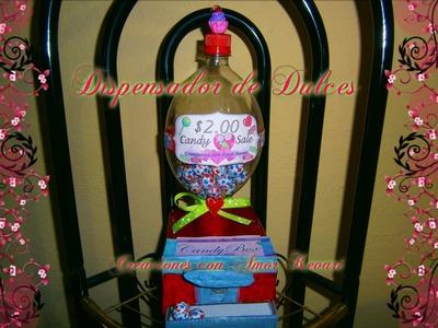 Dispensador de Dulces.♥ Candy Dispenser