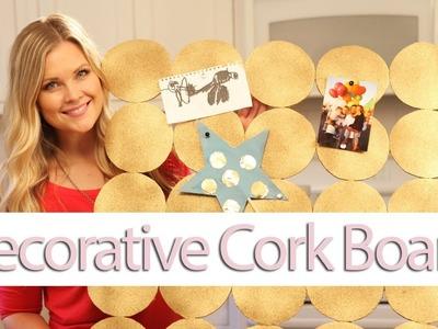 DIY Decorative Cork Board!!
