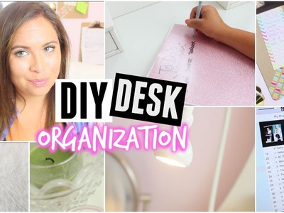 DIY Desk Organization + Study Motivation Tips For Back To School