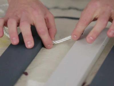 DIY Easy Painted Wood Doormat Project