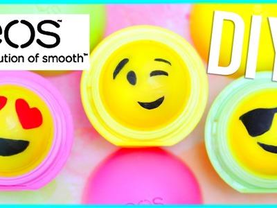 DIY EMOJI EOS LIP BALM!! (Two Ways)