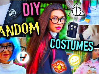 DIY Fandom Last Minute Halloween Costume Ideas!  | Cheap and Easy!