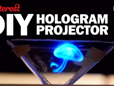 DIY HOLOGRAM PROJECTOR - Man Vs Pin - Pinterest Test #65